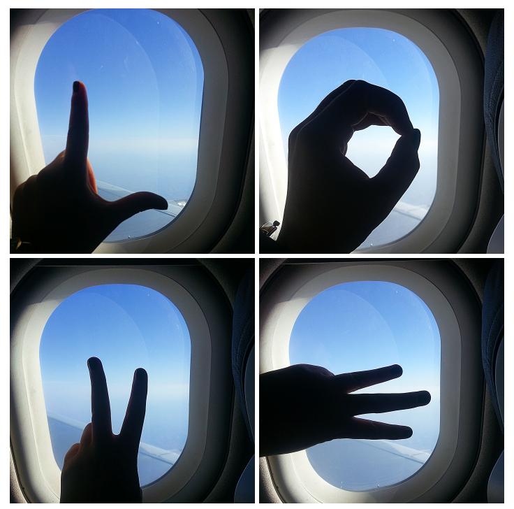 LOVE Flugzeug