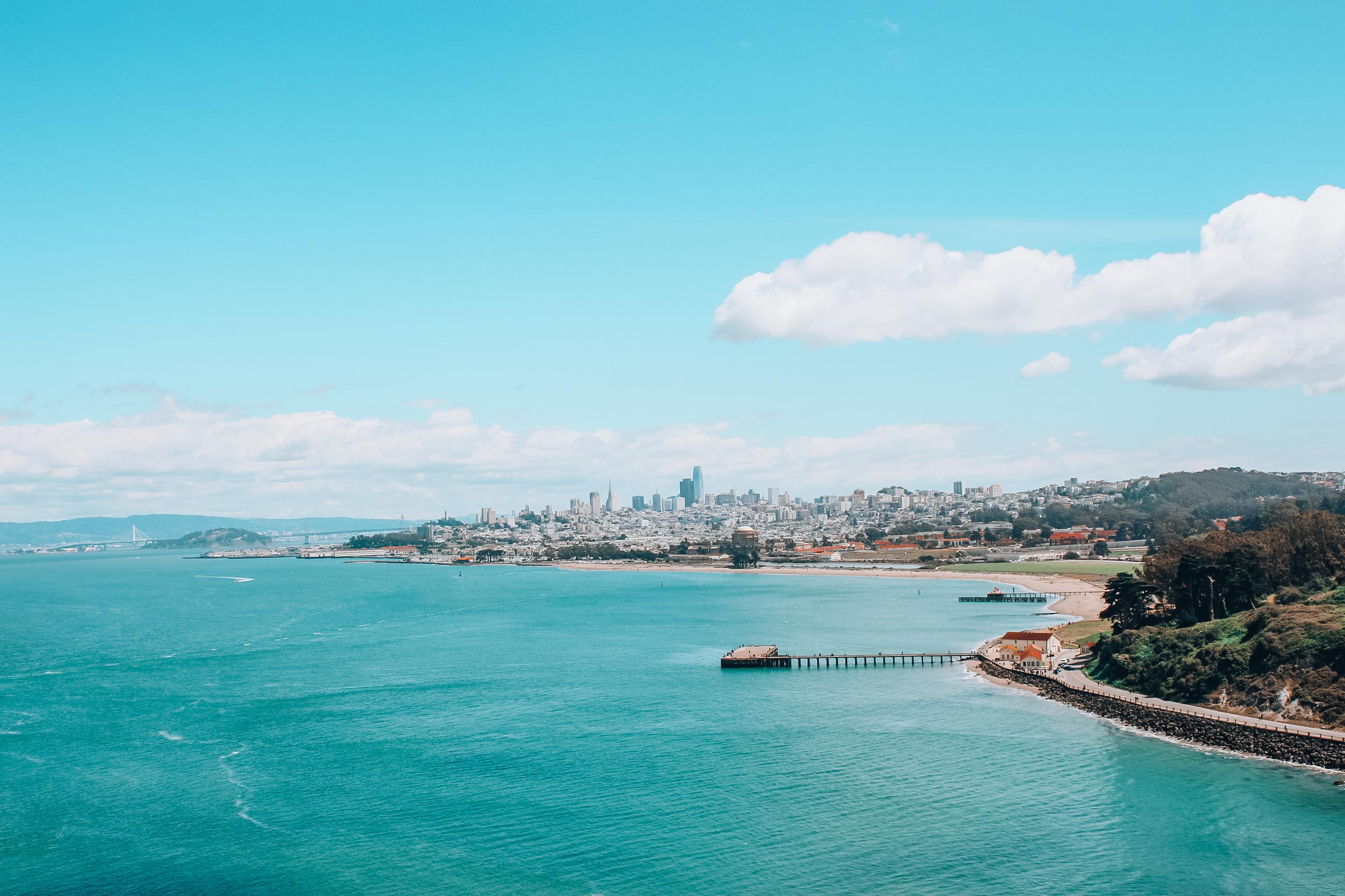 San Francisco 48 h Städtetrip: Auto oder Fahrrad?
